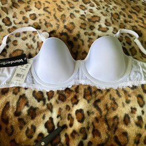 Wonderbra White Underwire Full Support Bra 36D